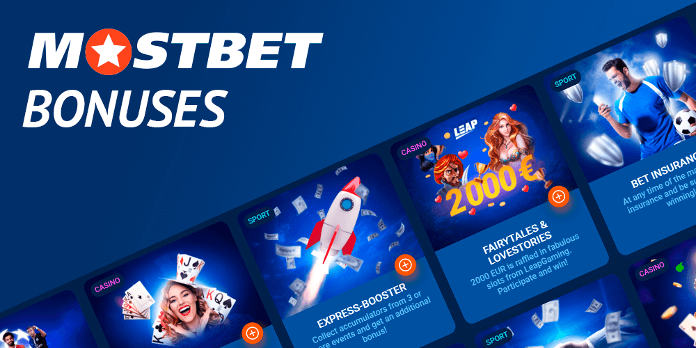 Exclusive offers to mostbet players